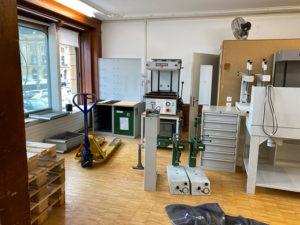 atelier orthopédique anciens locaux Neuchâtel