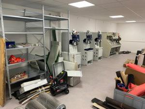 atelier orthopédique machines